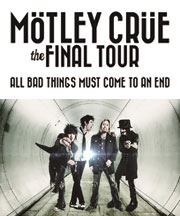 Kiss FM KOBE 後援 MOTLEY CRUE